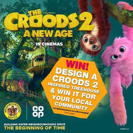 Design and win a Croods 2treehouse
