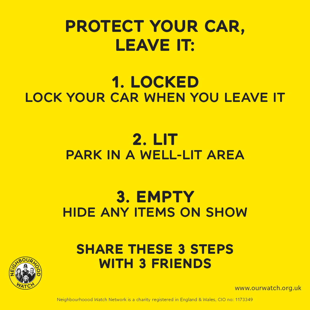 Protect yourself against car crime