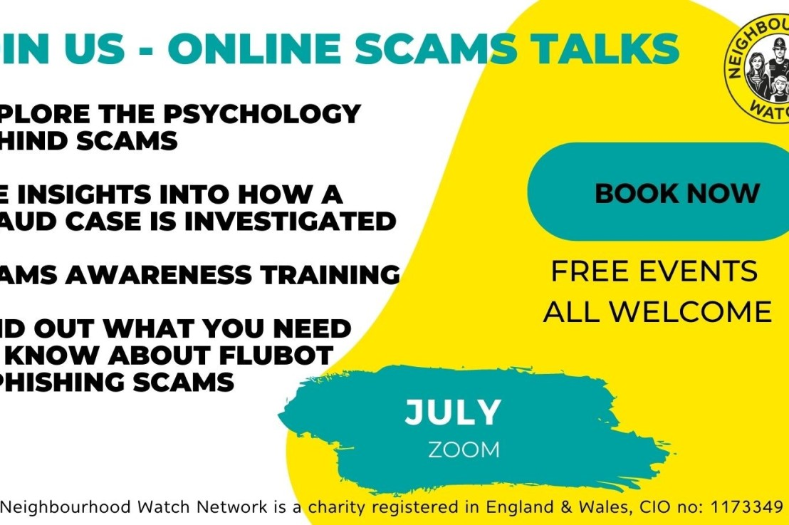 Online scams training