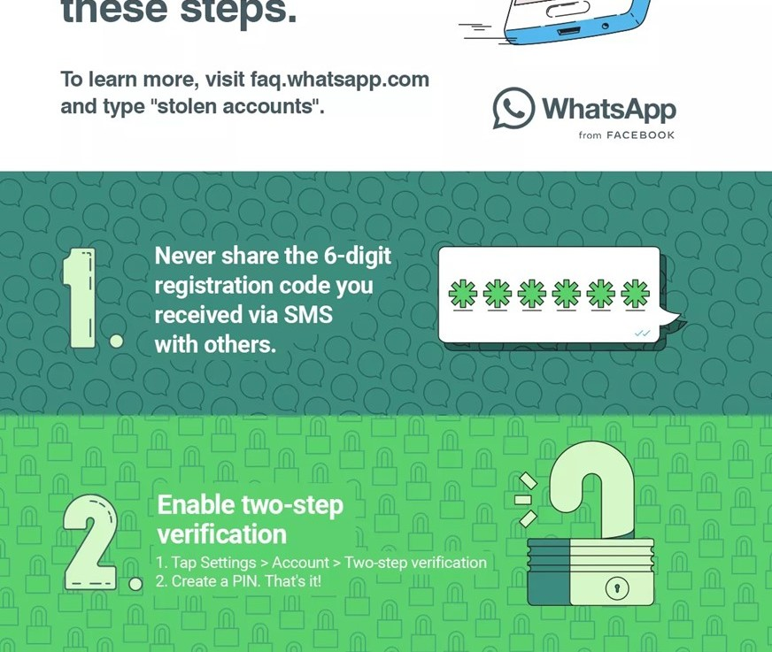 WhatsApp account compromise